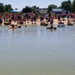 July 2017 Boat Races in Swimming Pond