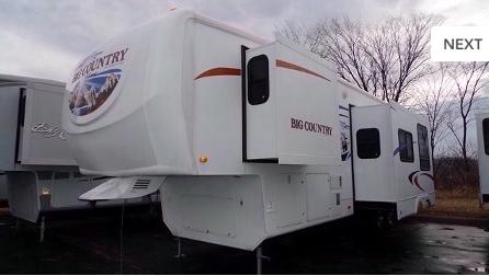 Breezy Hill Campground-camper storage